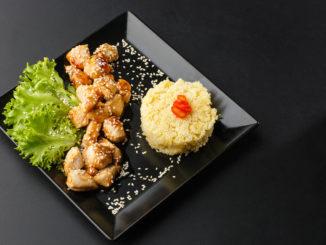 Hühnerfilet süß-sauer