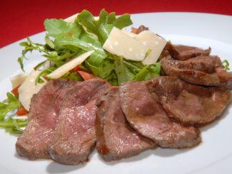 Gekochtes Rindfleisch