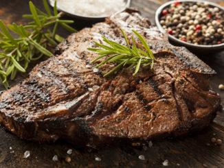 Porterhouse Steak mit Radicchio